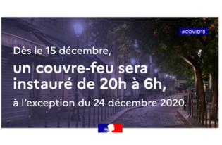 Le confinement en Ille-et-Vilaine à partir du 15 décembre 2020