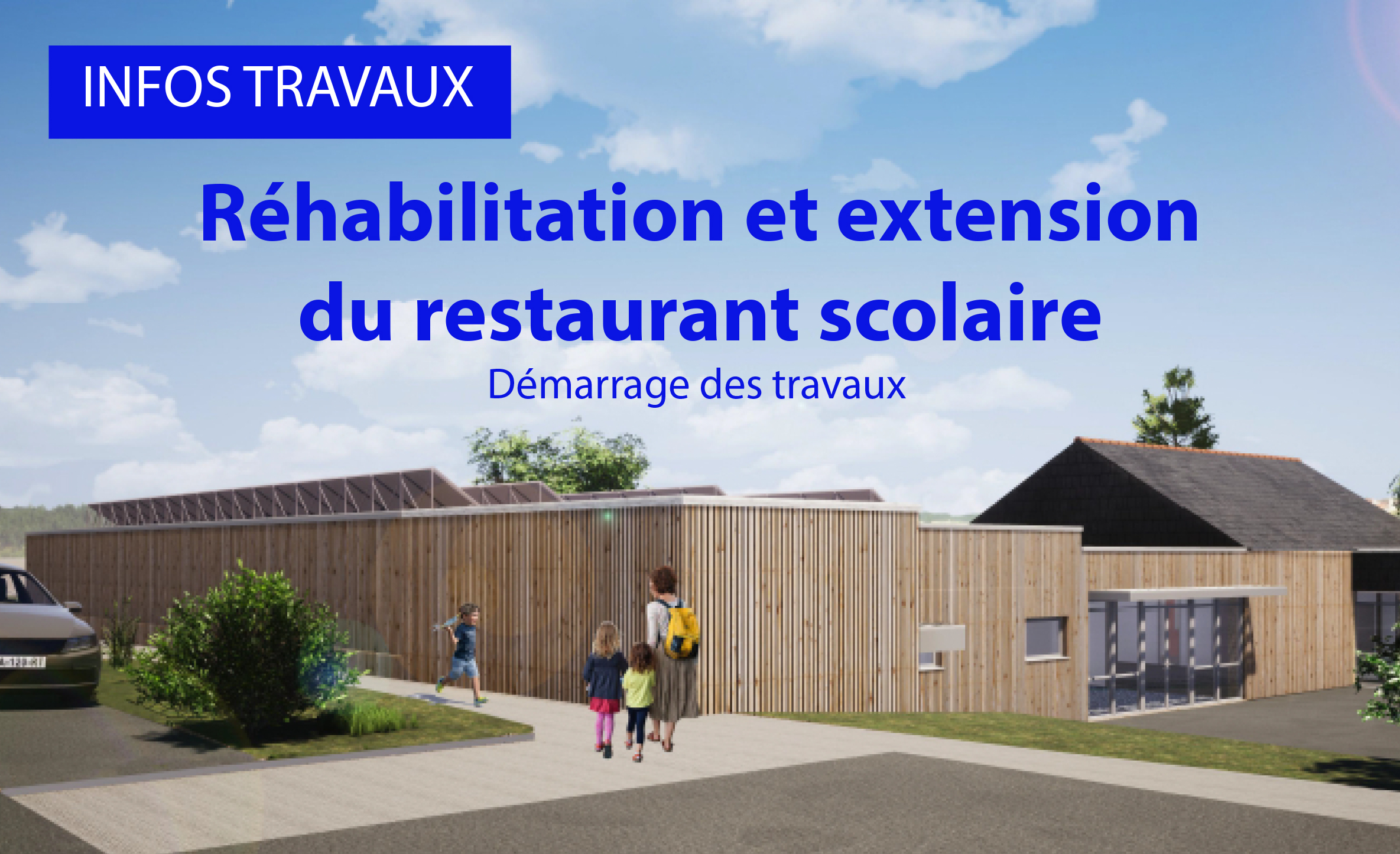 Réhabilitation et extension du restaurant scolaire